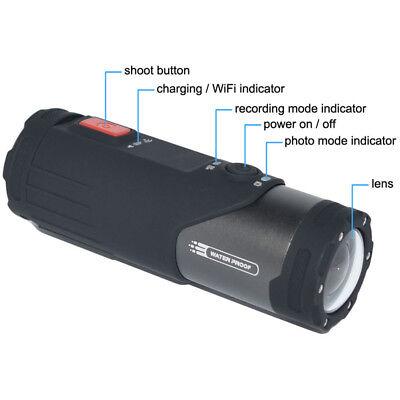 WIFI HD 1080P Sports Action Camera Bike Helmet Waterproof For Shotgun Camcorder 3