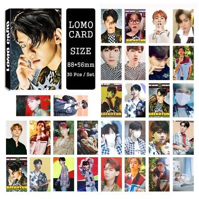 Lot of set cute KPOP EXO Album Personal Collective Photocard Poster Lomo Cards 3