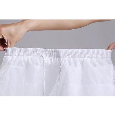3 Lagen Tütü Tutu Ballettrock Tüllrock Ballett Kleid Polyester schwarz weiß 35cm