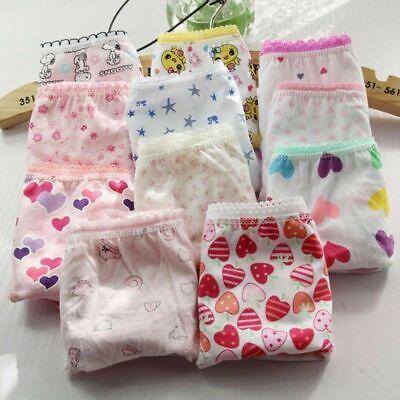 Girls 3 pack underwear knickers briefs 100% COTTON panties Age 3-11 years 3