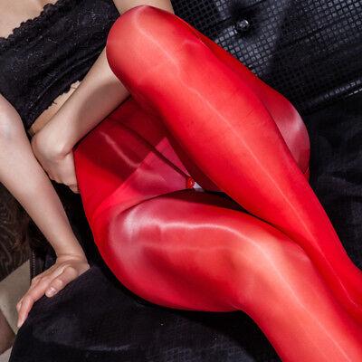 Plus Size Shiny High Glossy Sheer Stockings Dance Tights Pantyhose Hosiery Hose