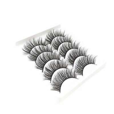 20 Pairs 3D Mink Handmade Fake Eyelashes Natural Long Wispy Makeup False Lashes 5