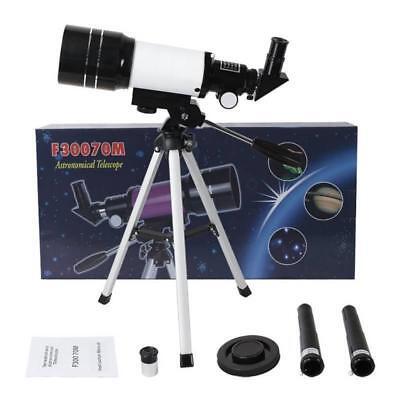 Telescopio Monoculare Astronomico Rifrangente Treppiede Cavalletto F300/70Mm 6