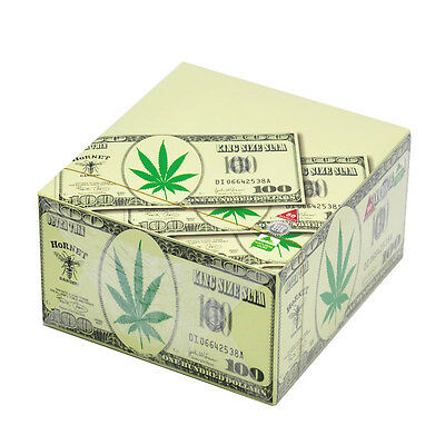 50 x Hornet Dollar King Size 110*54MM Rolling Papers 32 Leaves a Booklet 6