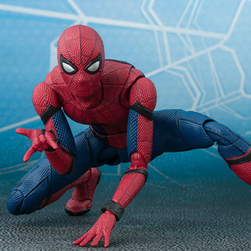 16cm Spider-Man Superheld Action Figur Avengers Spiderman Figurine Spielzeug Toy 5
