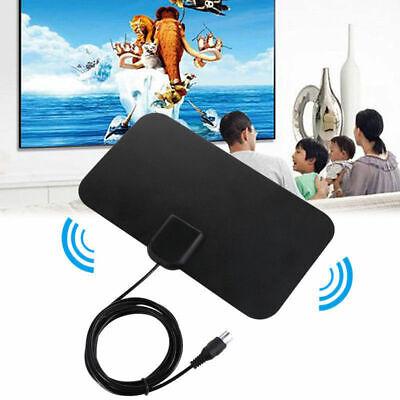 Antenne TNT intérieure numérique 4K 25DB à Gain Élevé ULTRAS HD TV Plug 50 Miles 5