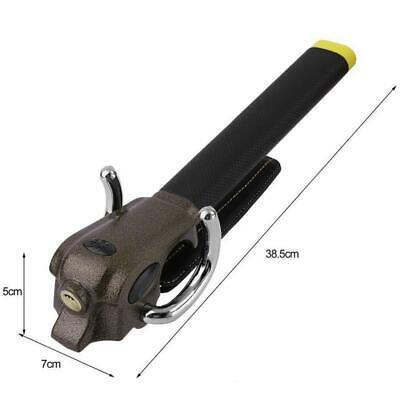 Universal Heavy Duty Car Van Steering Wheel Lock Anti Theft Security Safe 3 Keys 4