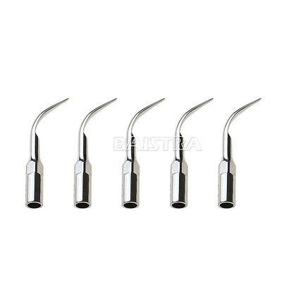 UK 10PCS Dental Scaling Tips G1 for Woodpecker EMS Ultrasonic Scaler Handpiece 9