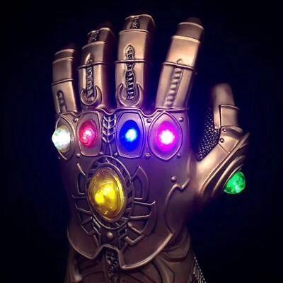 Thanos Infinity Gauntlet Marvel Legends Gloves Avengers 2018 Figure & LED LIGHT 3