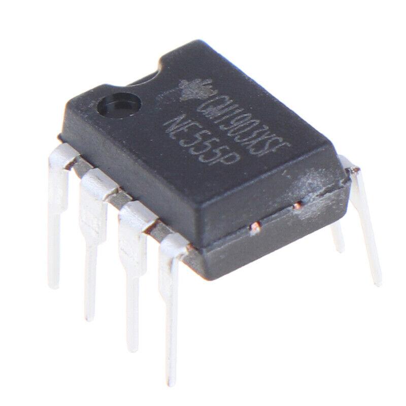 10PCS NE555P DIP-8 original IC time base circuit single high precision timer G3 8