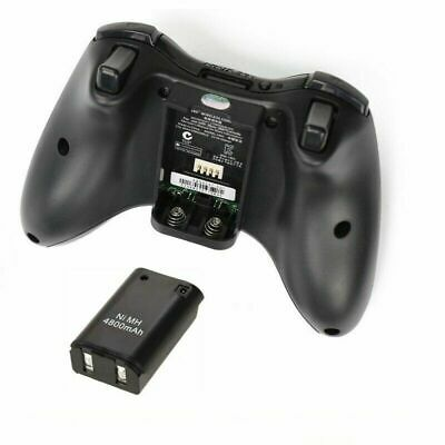 Rechargeable Battery Pack Charger Cable Dock for Xbox 360 Wireless Controller 9