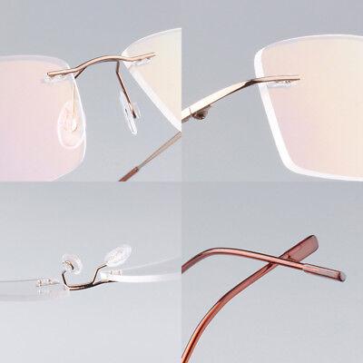 70b0faeba6 ... of 7FREE Shipping Flexible Rimless Titanium Alloy Eyeglasses Women Men  Glasses Frame Optic Eyewear 2