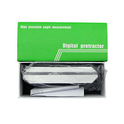 Digital Bevel Box Protractor Angle Measure Inclinometer Angle Gauge Meter Finder 9