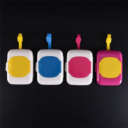 Baby Travel Wipe Case Child Wet Wipes Box Changing Dispenser Storage Holder TH