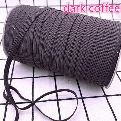5yds 6mm Hight Elastic Bands Spool Sewing Band Flat Elastic Cord diy Sewmaterial 8