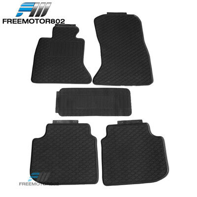 Fits 06-11 Honda Civic Heavy Duty Latex Floor Mats Front /& Rear Full Set