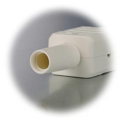 heißgerät Embrayage steckodse Heißgeräte-steckgeräte prise 230v//10a blanc