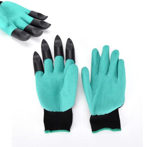 Eg /_1Pair Schutz Krallen Handschuhe Zum Graben Boden Bepflanzung Gartenarbeit