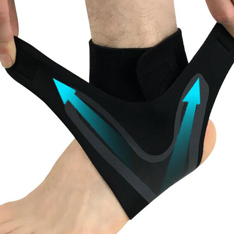Adjustable Ankle Support Brace Foot Sprains Injury Pain Wrap Guard Protector 3
