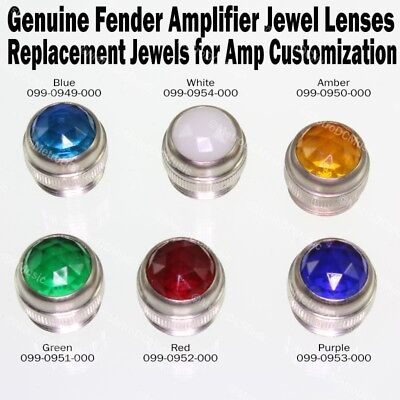 Genuine Fender RED Amplifier Jewel Pure Vintage Lens Amp NEW