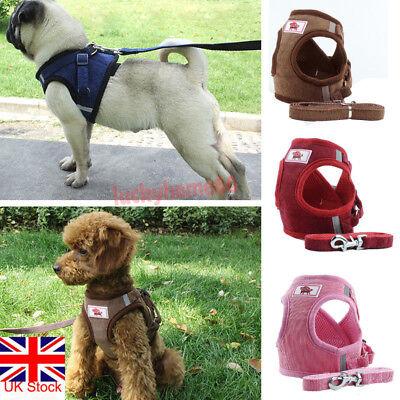 Non Pull Dog Harness Adjustable Soft Padded Vest Small Medium Mesh Jacket XS-XL 7