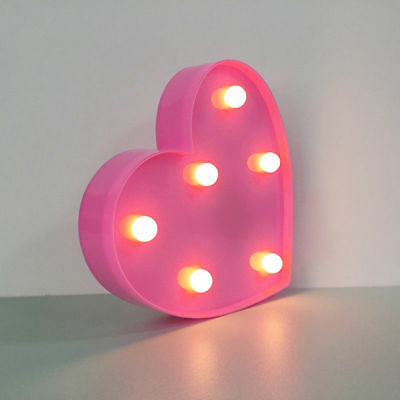 Alphabet LED Letter Lights Light Up White Colorful Plastic Letters Standing A-Z