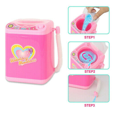 1Pc Cute Electric Cosmetic Powder Puff Washing Machine Makeup Brushes Cleaner 4
