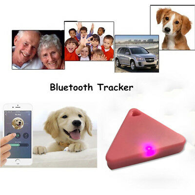 GPS Mini Tag Smart Tracker Bluetooth Wallet Key Finder Locator Alarm Pet Child