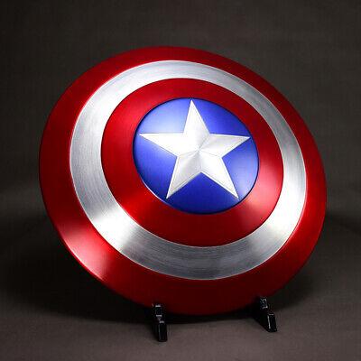 1:1 Avengers Captain America Shield Alloy Metal Version Cosplay Prop Display 3
