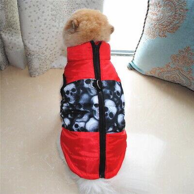 Dog Cat Coat Jacket Pet Supplies Clothes Winter Apparel Clothing Puppy Costume 7