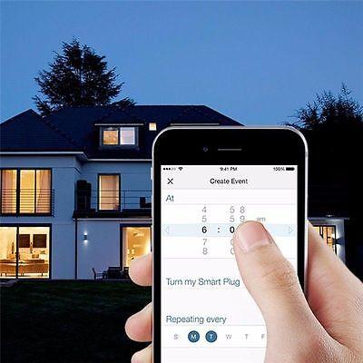 Enchufe Domotica Temporizador Wifi Remoto Smart Inteligente Con Interruptor 7