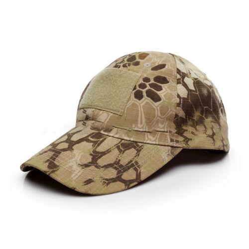 131e168bd MEN LADIES MILITARY Baseball Cap Camo Camping Hiking Fitted Peak Golf Hat