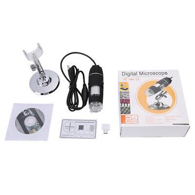 1600X Zoom 3in1 HD 1080P USB Microscope Digital Magnifier Endoscope Video Camera 12