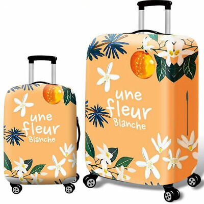 """Elastic Luggage Cover Dustproof 18""""-32"""" Thicker Suitcases Trolley Protector Case 7"""