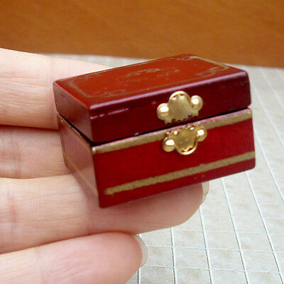 1/12 Dollhouse Miniatures Jewelry Box /Doll Room Decor House Accessory 7