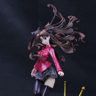 Anime Fate//Stay Night UBW Tohsaka Rin Painted GK 1//6 PVC Figure Toy New No Box