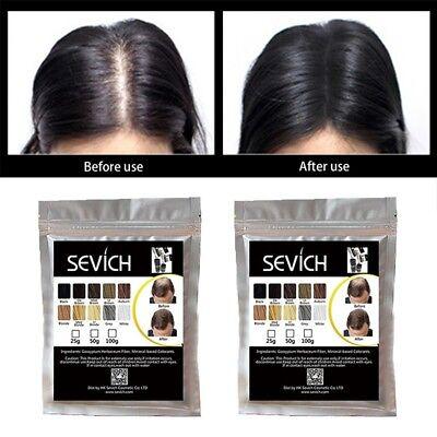 Sevich 100g Bags Hair Building Fiber Powder Keratin Loss Treatment Refill Bulk 8