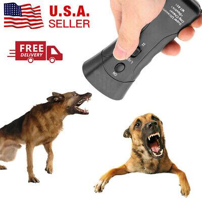 Anti Dog Barking Pet Trainer LED Light Ultrasonic Gentle Chaser Petgentle Style 4