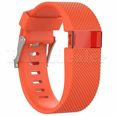 Replacement Silicone Wrist Strap Bracelet For Fitbit Charge HR Activity Tracker 8