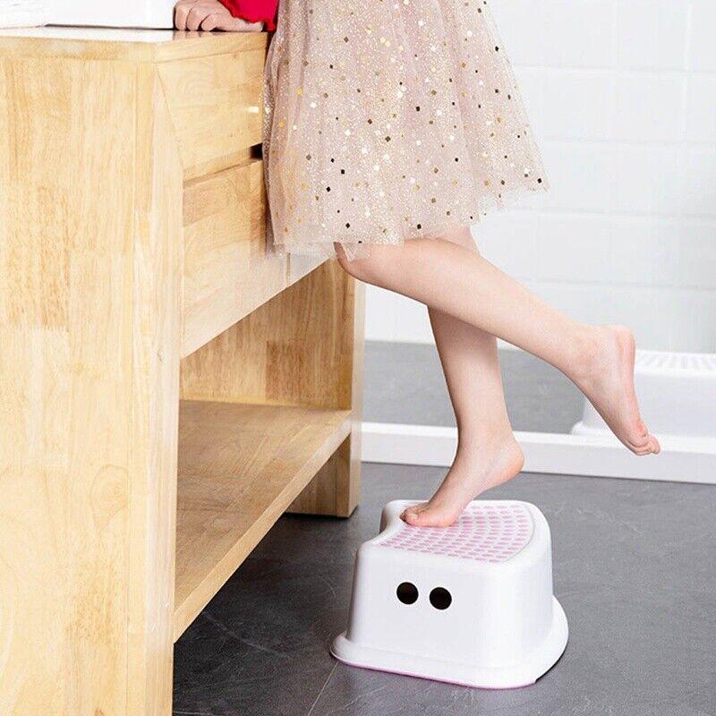 Non-Slip Strong Utility Foot Stool Bathroom Kitchen Kids Children Step Up SALE 3