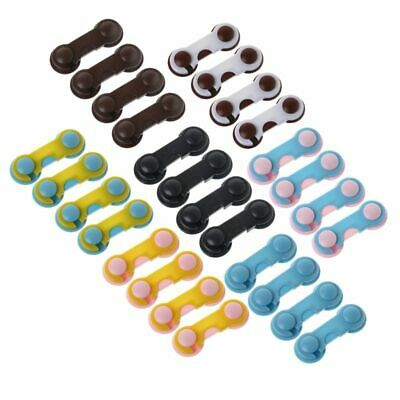 Safety Toddler Lock Door Child Kids Cabinet Drawer Cupboard Protector Guard 4pcs 4