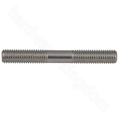Double End Threaded Stud Bolts M6 M8 M10 M12 All Sizes A4 Stainless Steel Screws