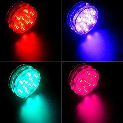 2 En 1 LED Lamp Lumières Télécommande Plongée Aquarium Poisson Tank Waterproof