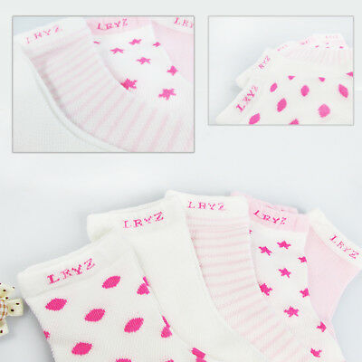 5 Pairs Baby Boy Girl Cartoon Cotton Socks NewBorn Infant Toddler Kids Soft Sock 4