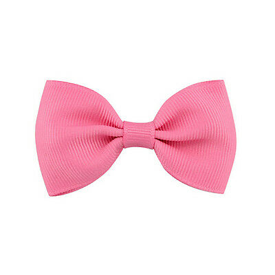 20X Hair Bows Band Boutique Alligator Clip Grosgrain Ribbon For Girl Baby Kid LD 10