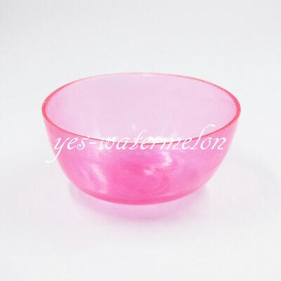 Dental Lab Nonstick Flexible Rubber Impression Mixing Alginate Bowl Pink 10CM 5