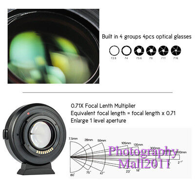 Viltrox EF-EOS M2 II AF Lens Adapter for Canon EF Lens to Canon EOS-M50 M3 M6 M2 11