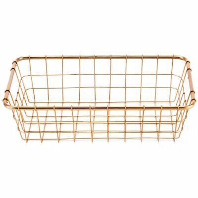 Zuo 3 Piece Basket Set in Gold 9
