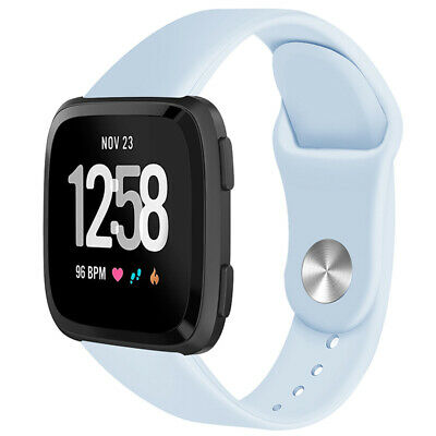 For Fitbit Versa Smartwatch Soft Silicone Replacement Sports Classic Band Strap 8