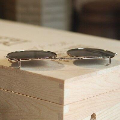 6922cd329ac ... Johnny Depp Clip-on Sunglasses Lens Round Polarized Flip-up Sunglass  Lens 44mm 2
